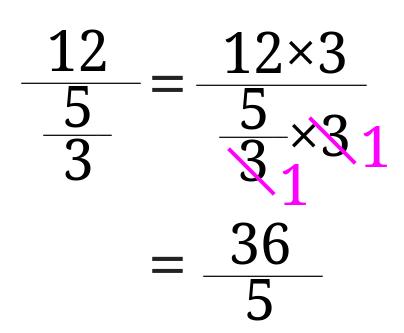 繁分数の計算